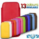 NEW SOFT LEATHER PULL-UP CASE COVER SOCK POUCH SLEEVE FOR APPLE IPHONE 5 5S 5C
