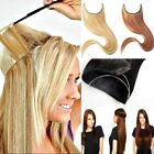 Top 100% Real Natural Secret Wire Hair Extensions Synthetic Brown Blonde T6S