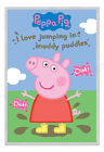 Peppa Pig Muddy Puddles Magnetic Notice Board Includes Magnets