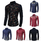 Mens Casual Shirt Slim Fit Stylish Dress Shirts Long Sleeve Men's Tops Hot sale