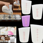250/500ml Kitchen Baking Mix Stir & Pour Measure Silicone Measuring Cup New