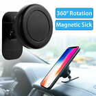 360° Universal Stick On Dashboard Magnetic Car Mount Holder Cradle for phone