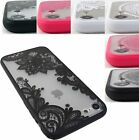 FOR APPLE IPHONE 7 / 7 PLUS SOFT TOUCH SLIM REAR HARD LACE CASE COVER +STYLUS