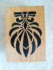 Indio Ink 2000  French Decor Rubber Stamp   Stampa Rosa   G 58109