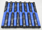 "Top Quality Set of 13 Winn Dri-Tac 6DT BBL Midsize (+1/16"") Golf Grips Blue New"