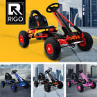 Kids Pedal Powered Racing Go Kart Safety Brake Shock Absorbing Tyre Ride on Toy
