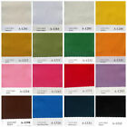 """133 COLOR"" SOLID COTTON FABRIC LIGHT UPHOLSTERY COVERING CURTAIN CLOTH 110cm W"