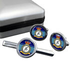 Tactical Communications Wing Royal Air Force (RAF) Cufflink & Tie Bar Set