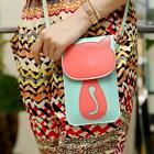 Fashion Women Lady PU Messenger Crossbody Shoulder Bag Satchel Handbag Tote 2v
