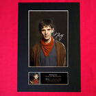 COLIN MORGAN Mounted Signed Photo Reproduction Autograph Print A4 334