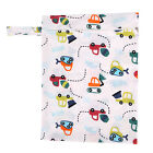Baby Nappy Storage Waterproof Bag Diaper Bag Washable Nappy Wet Dry Cloth