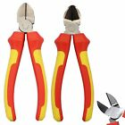 Heavy Duty VDE Side Wire Cable Cutter Plier 150mm Diagonal Cut Soft Grip New