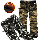 New Fashion Men's Long Military Camouflage Camo Trousers Casual Workwear Pants