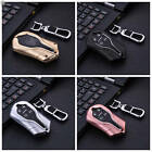 For Maserati Car Key Fob Case Cover Keyless Entry Aluminum Solid Metal+Key Chain