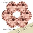 GENUINE Swarovski Blush Rose (257) Crystal (Hotfix / NO Hotfix) Pink Rhinestones
