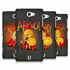 HEAD CASE DESIGNS TINY SPARTANS HARD BACK CASE FOR SONY PHONES 4