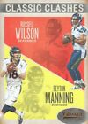 2016 Classics Football Classic Clashes Bronze #8 Russell Wilson/Peyton Manning