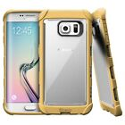 POETIC Corner Protective+Shockproof Bumper Hybrid Case For Galaxy S6/S6 Edge