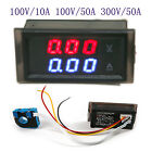 Digital Ammeter Voltmeter Tester Meter Voltage Current Combo Guage Panel Meter