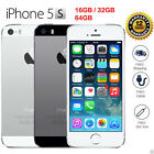 "Apple iPhone 5S- 16GB 32GB 64GB Unlocked Smartphone 4G LTE Dual Core 4.0"" 8MP"