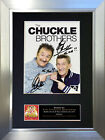 CHUCKLE BROTHERS No2 Signed Mounted Photo Display TV Reproduction Print A4 616