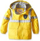 Carter's Toddler Boys Yellow Police Rain Jacket Size 2T 3T 4T