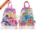 1PCS 2styles Little Pony Kids Drawstring Backpack Bags Kids Handbags party gifts