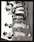 Johnny Groth  and Others   BRAVES  UNSIGNED  7-5/8 X 9-1/2   B&W  SNAPSHOT  #4
