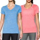Under Armour Damen T-Shirt mit V-Ausschnitt UA Twist Tech Sportshirt