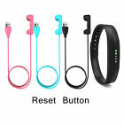 USB Charger Charging Cable with Reset Button for Fitbit Flex 2 Fitness Wristband