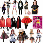 Ladies Womens Halloween Skirt Cape Vampire Zombie Horror Fancy Dress Costume