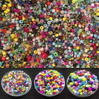 Jewelry Making Czech 2mm/3mm/4mm Round Lot mixing Colorful Seed Beads