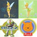 5pc nEw CHILDRENS WALL DECAL SET - Kids Characters Wall Accent Sticker Kit