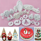 Christmas Fondant Pastry Sugarcraft Mold Cake Decorating Plunger Cutter Gum Tool