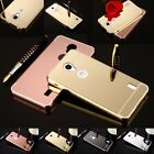 Ultra-Thin Aluminum Metal Frame Case Mirror Back Cover For Huawei Ascend Y635