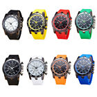 Men's Fashion  Stainless Steel Sports Watch Analog Quartz Modern Wrist Watch