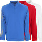 Adidas Golf Men's 3-Stripe 1/4 Zip Layering Top
