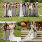 Ever-Pretty Lace Long Mermaid Bridesmaid Dresses Formal Evening Prom Gown 08838