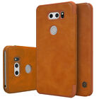 For LG V30 /V20 /G6 Thin Smart Wakeup/Sleep Flip Wallet Leather Pouch Cover Case