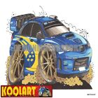 Koolart Cartoon 2006 Subaru Impreza WRX STi WRC Rally Blue - Mens Gifts (2093)