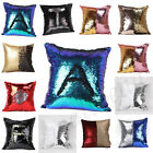 Reversible Sequin Double Color Mermaid Glitter Sofa Cushion Cover Pillow Case