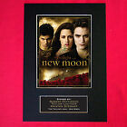 NEW MOON Twilight Mounted Signed Photo Reproduction Autograph Print A4 28