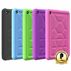 Amazon Kindle Fire 7 Poetic [Turtle Skin] Rugged Shockproof Silicone Case (2015)