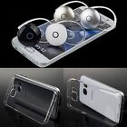 Mini Bluetooth Wireless Headset Earphone Clear Case for Samsung Galaxy S7 /edge