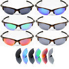 Polarized Replacement Lenses for-Oakley Half Jacket Sunglasses - Option Colors