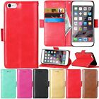 Flip Leather Cards Wallet Stand Magnetic Case Cover For iPhone 5 5s 6 6s Plus SE