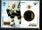 2000-01 PRIVATE STOCK GAME GEAR PATCHES #40 DARRYL SYDOR /40