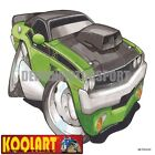 Koolart Cartoon Plymouth Barracuda Cuda Green - Mens Gifts (3241)