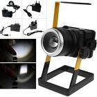 Outdoor Portable 2400lm Zoomable Rechargeable Flood Lamp Camping Work LED Light