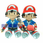 Pokemon GO protagonist Ash Ketchum Cute Soft Plush Doll Toys